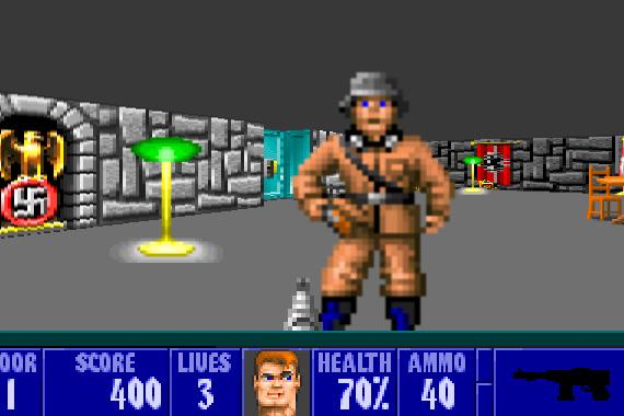 Wolfenstein 3d (HTML5)