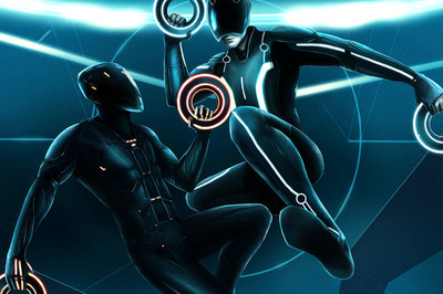 Tron Disc Battle
