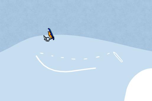 Fancy Snowboarding