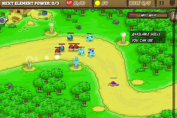 Elemental Strike: Mirage Tower