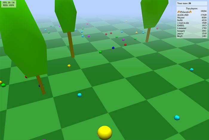 Bild på Agario 3D (biome3d)