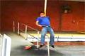 Rail fail på skateboard