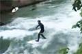 Surfa på vågor i Tyskland
