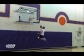 Awesome Wall Dunk Trick Shot
