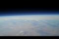 Hemmagjord raket skjuts upp i rymden