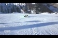 Epic Snowboard Wipeout