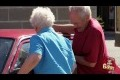Grandma Destroys Car Door Prank!