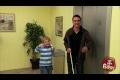 Kid Tricks Blind Man Prank