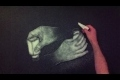 Konst med salt - Drawing Hands
