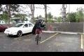 Darth Vader i en Kilt på en enhjuling spelar säckpipa